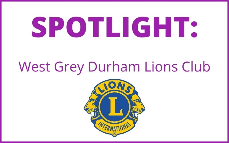 SPOTLIGHT: WEST GREY DURHAM LIONS CLUB BRIDGE PROJECT